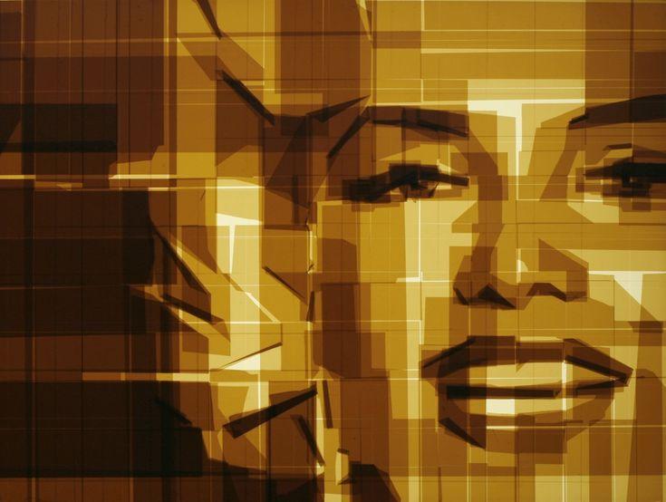 Karya Seni Ilusi Berbahan Selotip - Global Liputan6.com