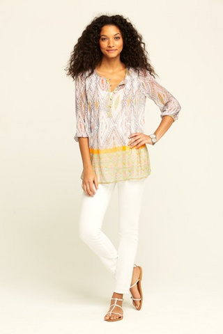 another chiffon top!