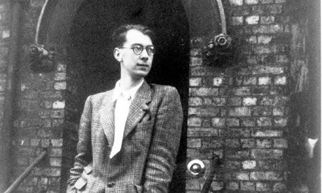 Philip Larkin  (9 August 1922 – 2 December 1985)  pictured in Oxford, in 1943 http://www.guardian.co.uk/books/2010/jun/27/philip-larkin-love-hate-women  http://www.theparisreview.org/interviews/3153/the-art-of-poetry-no-30-philip-larkin  http://www.theatlantic.com/magazine/archive/2011/05/philip-larkin-the-impossible-man/308439/  http://www.guardian.co.uk/books/philiplarkin