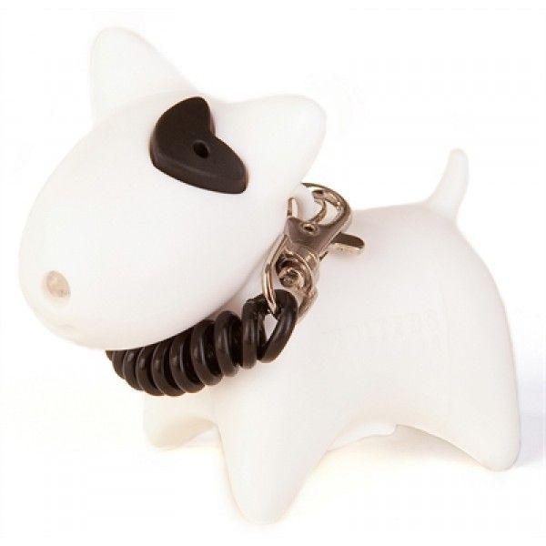 Deze Picobello poepzakhouder ziet er niet alleen leuk uit, maar is ook nog eens harstikke handig doordat deze is uitgerust met een LED-lichtje. Het hondje is uitgerust met 10 verteerbare zakjes en heeft bovendien een trekkoord waarmee je dit hondje kunt bevestigen aan je tas, jas of hondenriem.
