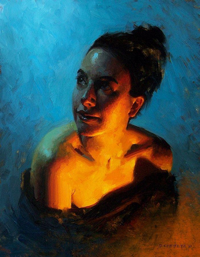 Passage by David Cheifetz Oil ~ 14 x 11