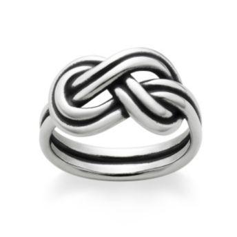 True Love Knot Ring size 7 http://www.jamesavery.com/product/True-Love-Knot-Ring/157887.uts