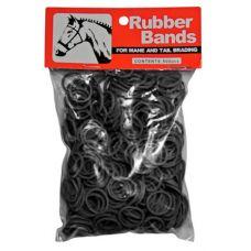 Rubberen elastiekjes voor het vlechten van de manen en staart