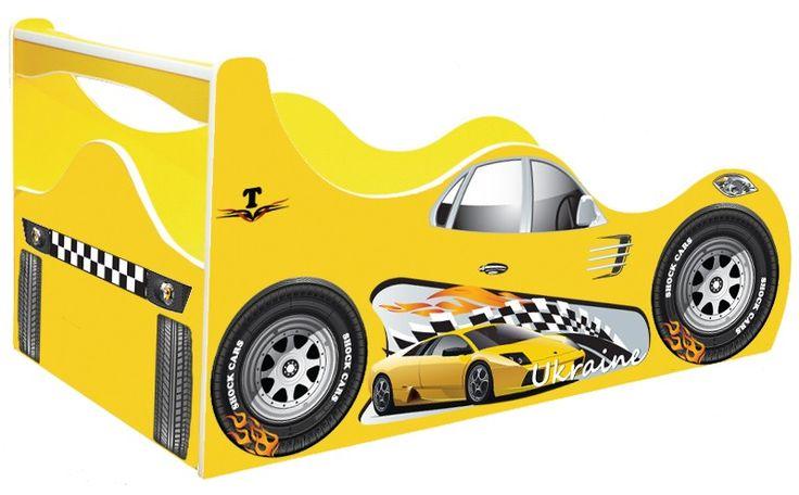 "• КРОВАТИ МАШИНЫ Shock Cars ""Кровать машина Такси"" Кровать машина Такси Taxi желтая"