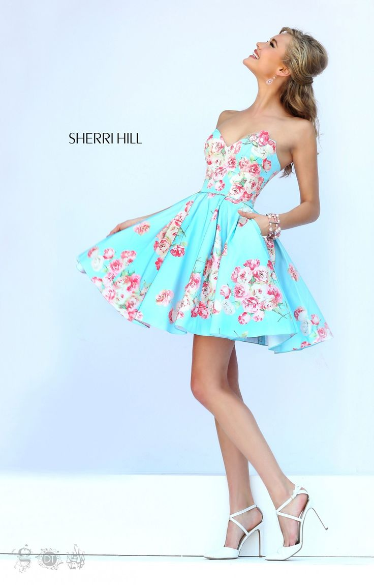 353 best Sherri Hill images on Pinterest | Party wear dresses ...