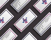 Sky Bar Drink Menu & Banner Graphic Design Free Mockup