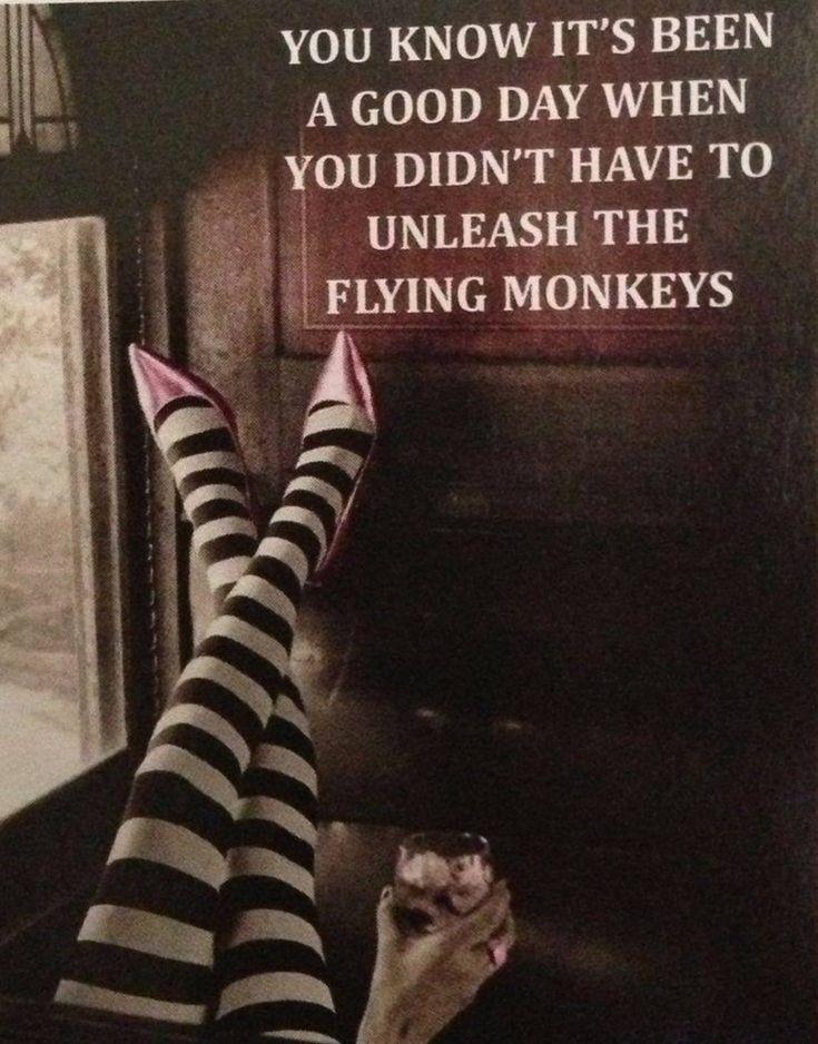 A socipath's flying monkeys