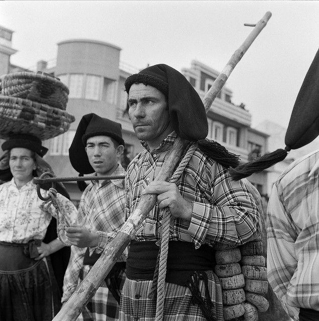 Fishermen, Nazaré, Portugal