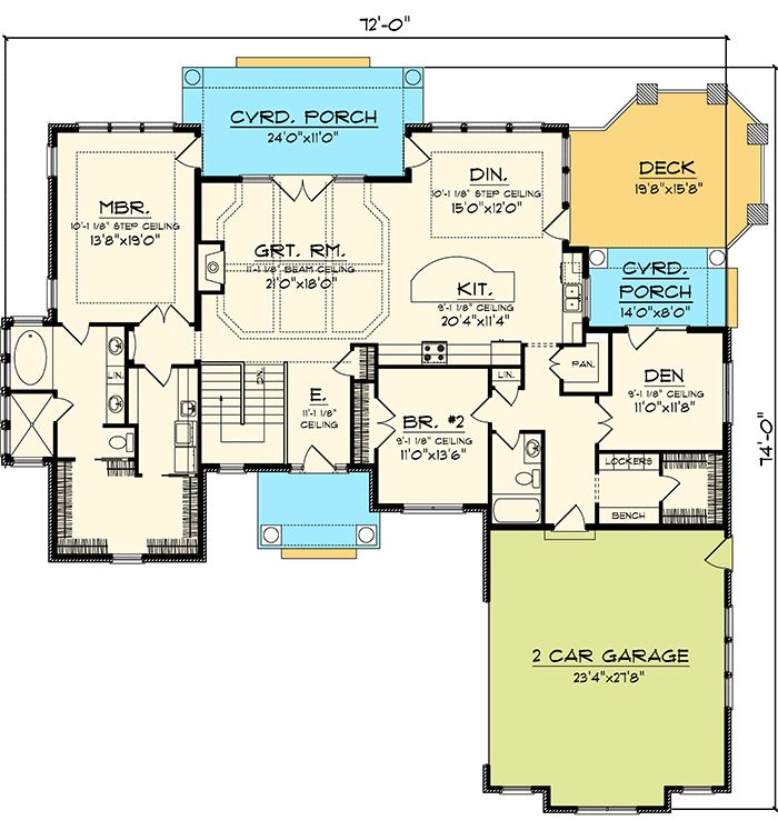 993 best house plans images on pinterest floor plans for Hip roof ranch house plans