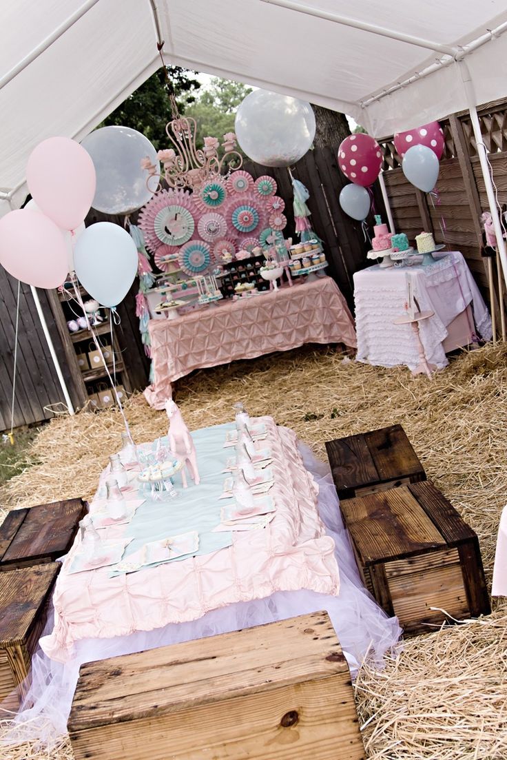Vintage pony party - now that's a pony party I can appreciate! JP