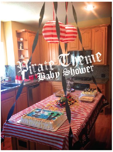 Some GREAT ideas for a pirate theme party or baby shower! FREE printable games!!!~Life Sprinkled With Glitter