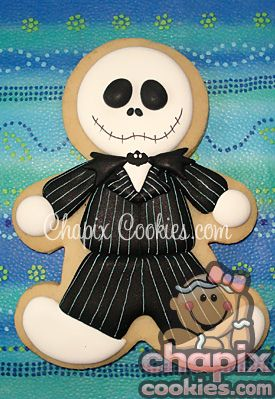 jack skellington cookie halloween cakeshalloween halloweenhalloween costumesgingerbread - Halloween Gingerbread Cookies