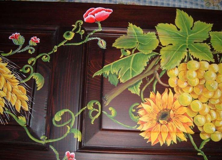 Decorazioni su legno fai da te - Dipingere sul legno