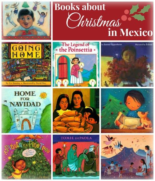 Christmas in Mexico Books-nice balance of traditional and contemporary, fiction, religious, and immigrant stories.Perfect to use in Christmas around the world unit.