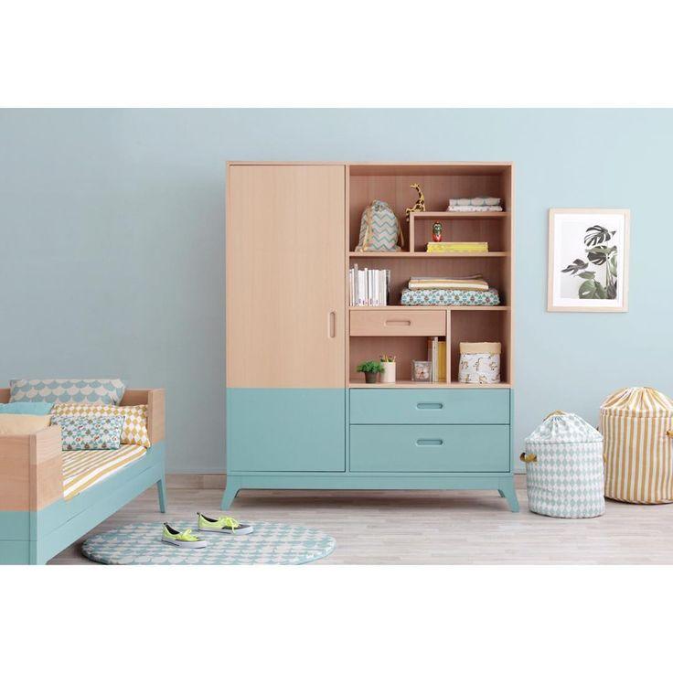 Awesome Horizon wardrobe. 3 in 1! Dresser, wardrobe & bookshelf! Fall in ❤️…
