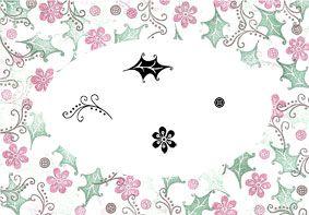 Whimsey Christmas - Majestix Clear Peg Stamp Set