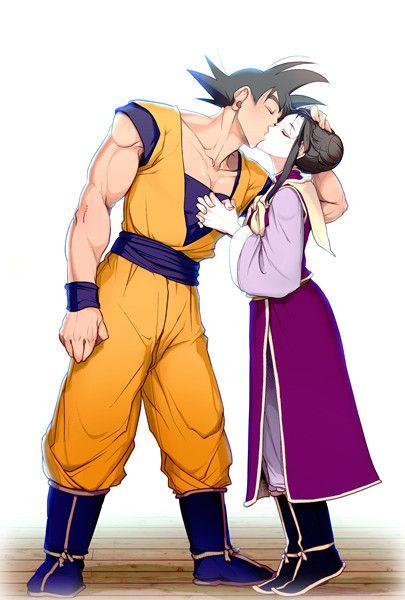 163 best GOKU e CHICHI images on Pinterest Milk, Goku