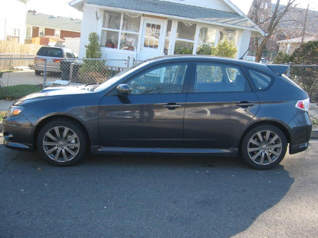 2009 WRX , bought this for my wife on mothers day 09      ( Joe )