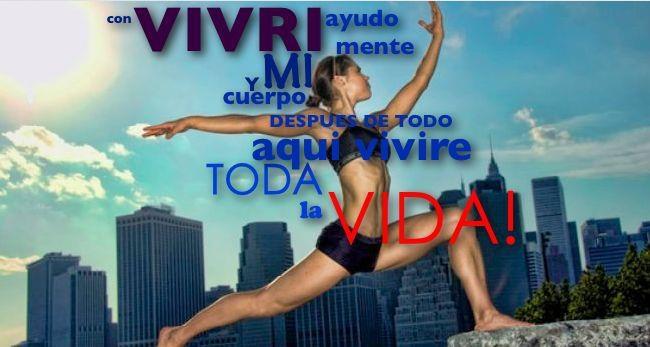 Repin - si tu Vives VIVRI™!  #myvivri #vivri #nutiricionesencial #ejercicio #health #fitness #workout #quote
