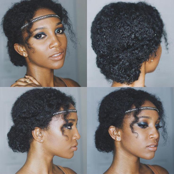 Stupendous 1000 Ideas About Natural Hair Updo On Pinterest Natural Hair Short Hairstyles Gunalazisus