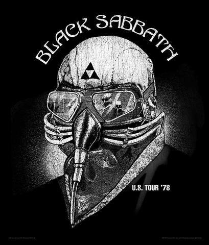 Black Sabbath Tour 1978 Poster - Artangle