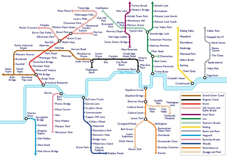 Soundmap of London canals and minor rivers.An auditory tribute to Harry Beck's Underground map, the skeleton which has long lent shape to the city in the minds of Londoners. Here sounds were collected from along London's canals and lesser rivers. (SoundSurvey, 2012.)