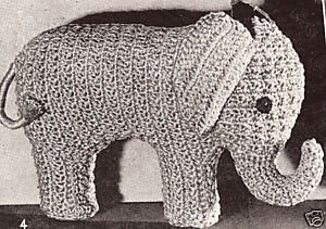 Free Filet Crochet Elephant Pattern : 47 best images about vintage crochet patterns on Pinterest ...