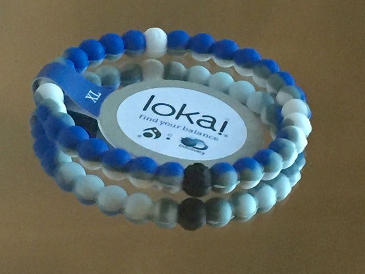 Lokai Bracelet Shark Week Blue