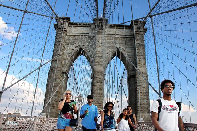 Brooklyn Köprüsü, ABD