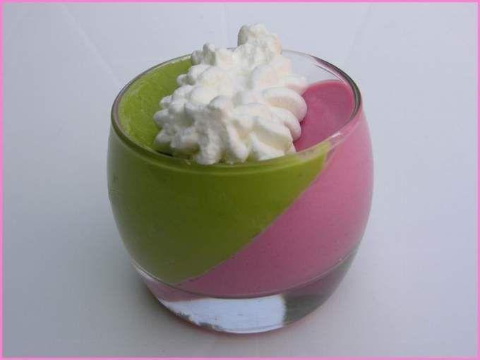Panna-Cotta Betterave et Mousse d'Avocat à la Crème de Neufchâtel