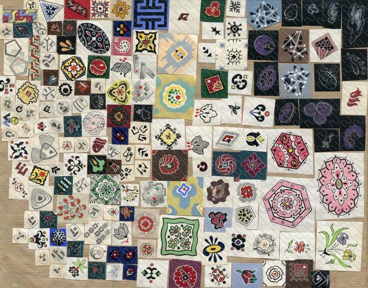 (9133) patchwork classical motif – patchwork motivetti classici – Imagesfashiontextiles