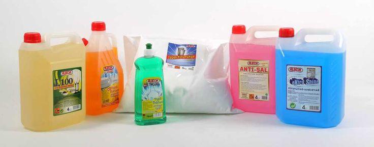 καθαριστικά πιάτων & πλυντηρίου