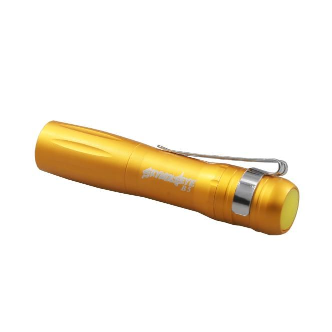 Portable LED 250LM Lamp Clip Mini Penlight Flashlight Torch AAA High-Quality Metal Aluminum