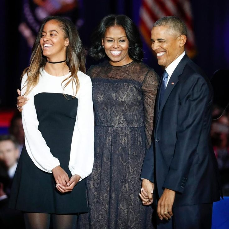 Just as Barack Obama employed the power of rhetorical callback in his farewell address in Chicago last night - 'Yes we can, Yes we did' he said, reminding the world of the slogan which encapsulated his 2008 Presidential campaign - so Michelle Obama created her own sense of symmetry by choosing a dress by Jason Wu for one of her last appearances as FLOTUS.