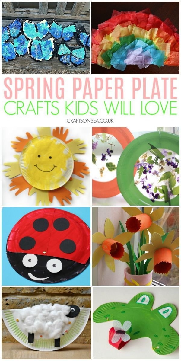 20 Cute And Achievable Spring Paper Plate Crafts Cool Crafts And