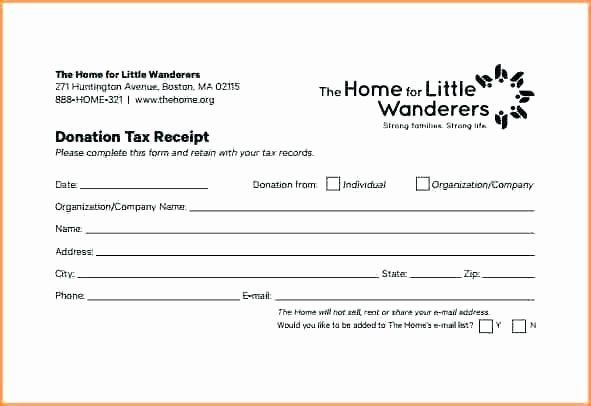 Charitable Donation Form Template New In Kind Donation Receipt Form Template Church Business Letter Template Teacher Newsletter Template Free Receipt Template