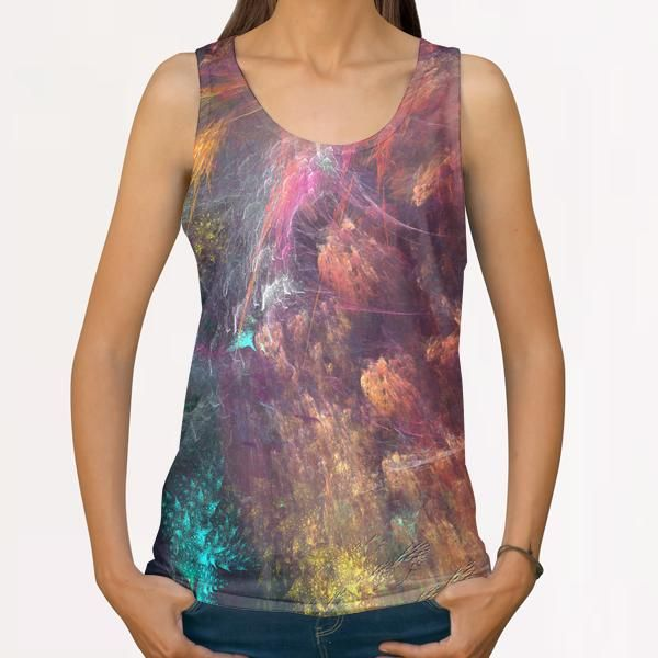 Dragons All Over Print Tanks by jbjart