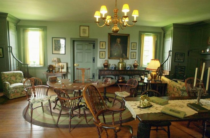 Robert Carter House Colonial Williamsburg Interiors