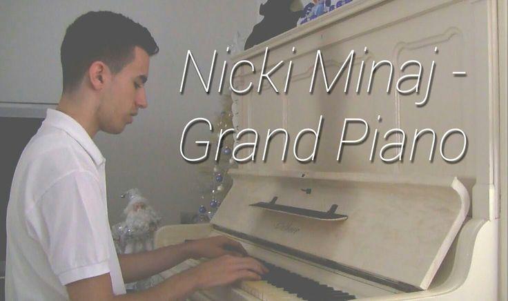 Nicki Minaj - Grand Piano (Piano Music Video Cover by ELIE)