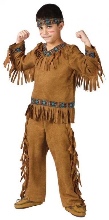 Boy's American Indian Costume - Kids Costumes