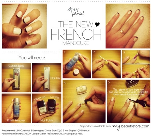 Max Pictorial... The New French Manicure www.maxshop.com