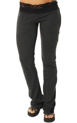 "Metal Mulisha Women's ""Eli Pants"" Scrunch Bottom Tights/Sweatpants Dark Gray w/Black Lace-Large Metal Mulisha,http://www.amazon.com/dp/B00CLWGJDM/ref=cm_sw_r_pi_dp_ni5Prb9B856B4687"