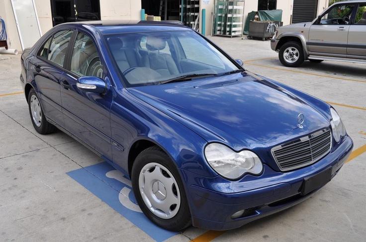 2002 MERCEDES KOMPRESSOR C200 FOR SALE   75,000ks, Blue, supercharged engine, $16,500  CALL PABLO ON 0437998516
