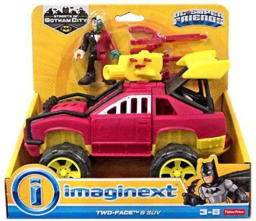 Imaginext Two Face & SUV DC Super Friends Imaginext