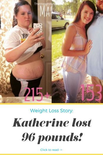 96 Pounds Lost: New Mom on a Mission!