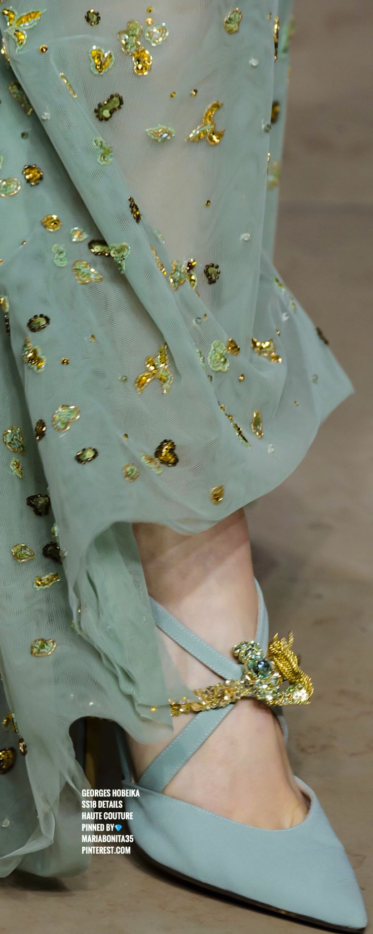 Georges Hobeika SS18 Haute Couture Details