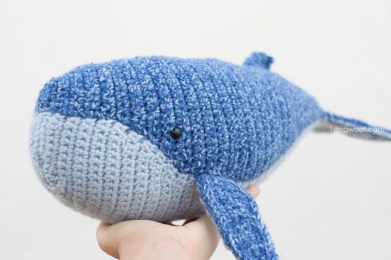 ... Crochet Whale on Pinterest | Crocheting, Amigurumi and Whale Pattern