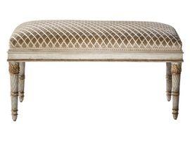 Винсенс Bench традиционный, обивочные ткани, дерево, скамейка Ebanista