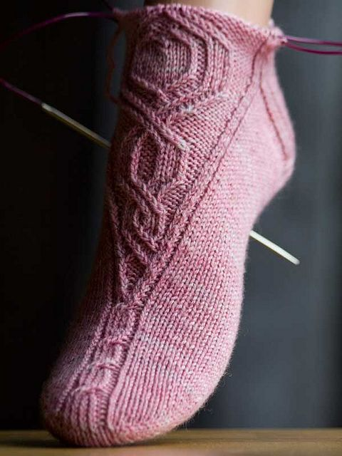 If any of you sock knitters out there know where this pattern originates please, please let me know :-)