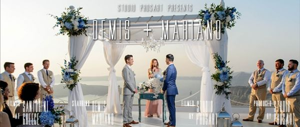 Destination wedding film in Santorini  See more http://photographergreece.com/en/cinematography/wedding-trailers #phosart #photography #cinematography #wedding #santoriniwedding #photographergreece #cinematographergreece
